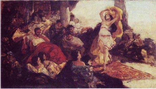 Готтлиб Танец Саломеи