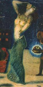 Франц фон Штука Танцующая Саломея