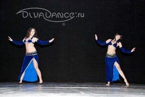 юбка с длинным разрезом для восточных танцев